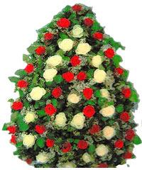 coroane funerare de lux din trandafiri